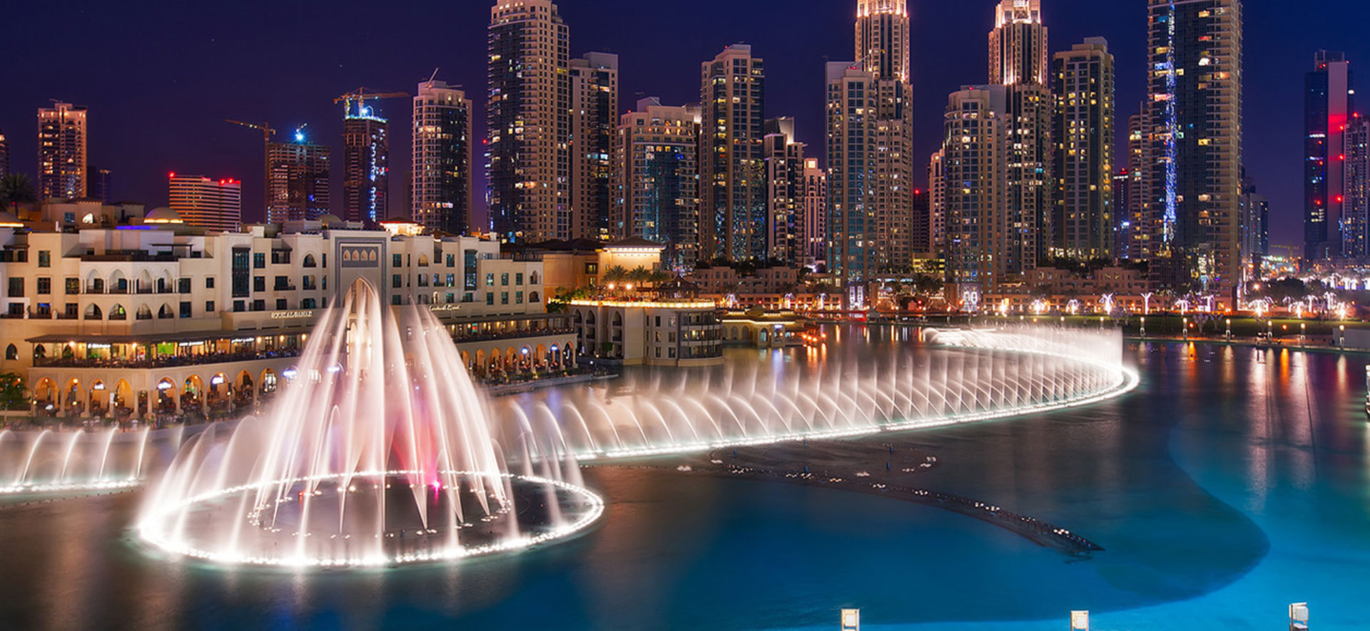dancing fountain of dubai