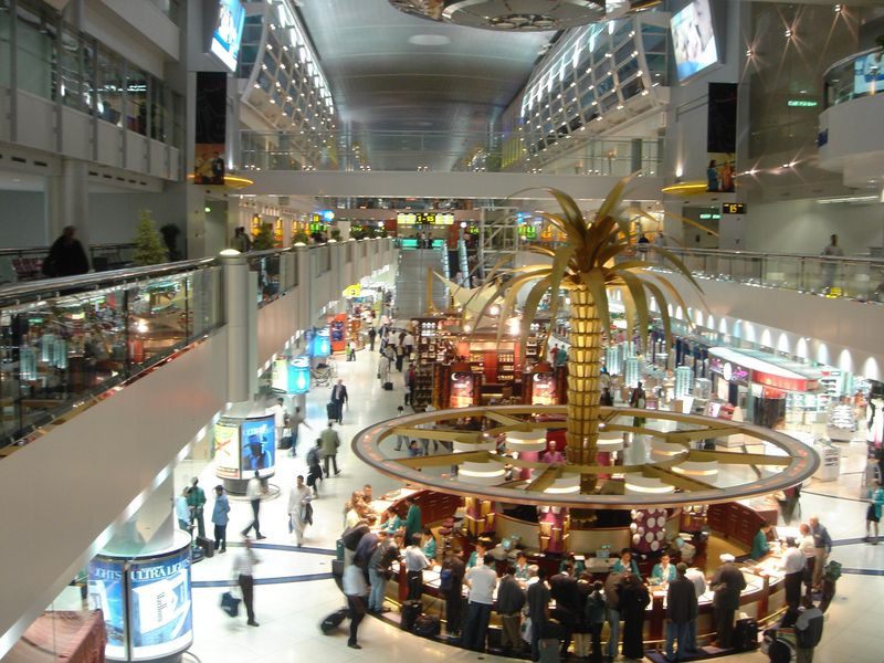 dubai international airport interior