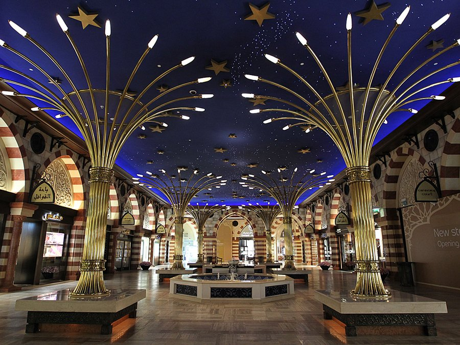 dubai mall from inside