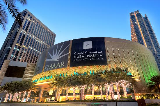 dubai mall from outside