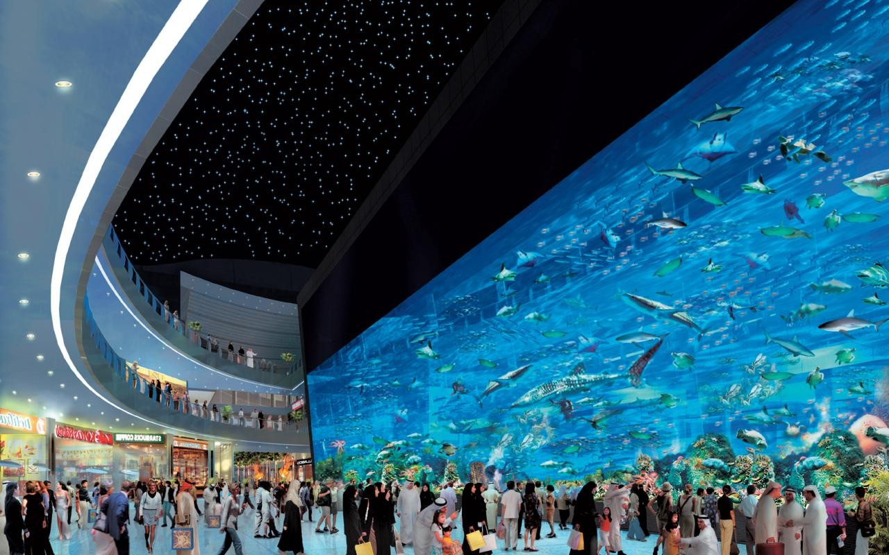 dubai mall interior