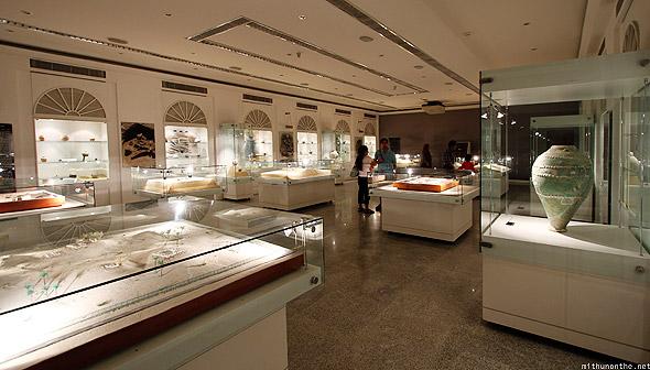 dubai museum inside