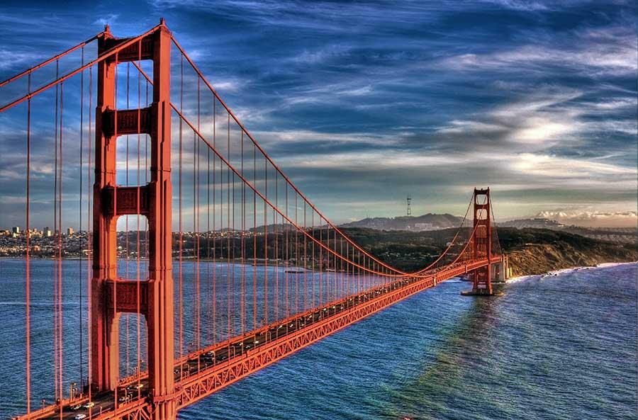 golden gate bridge united states of america