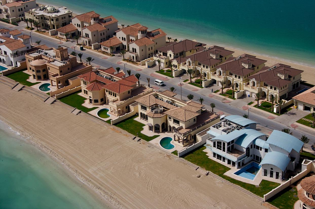 houses of Palm jumeirah
