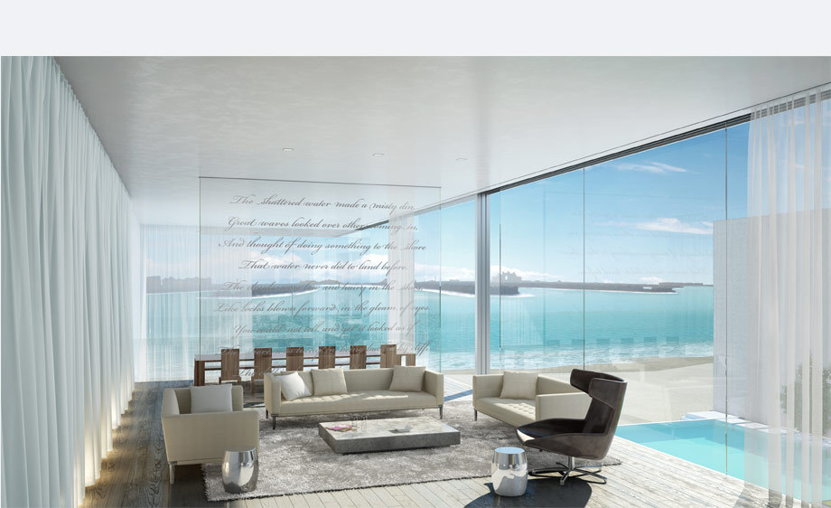 palm jumeirah's house interior
