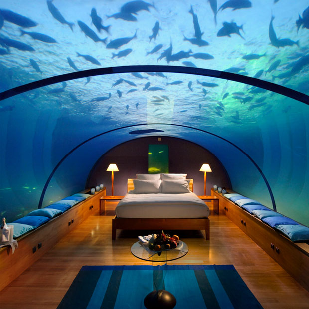 royal suite in Dubai Underwater Hotel