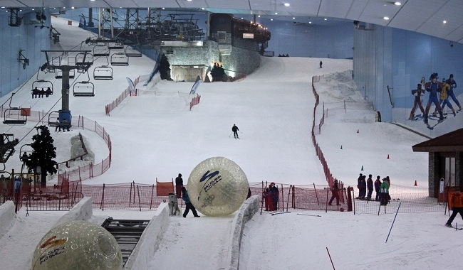ski dubai inside