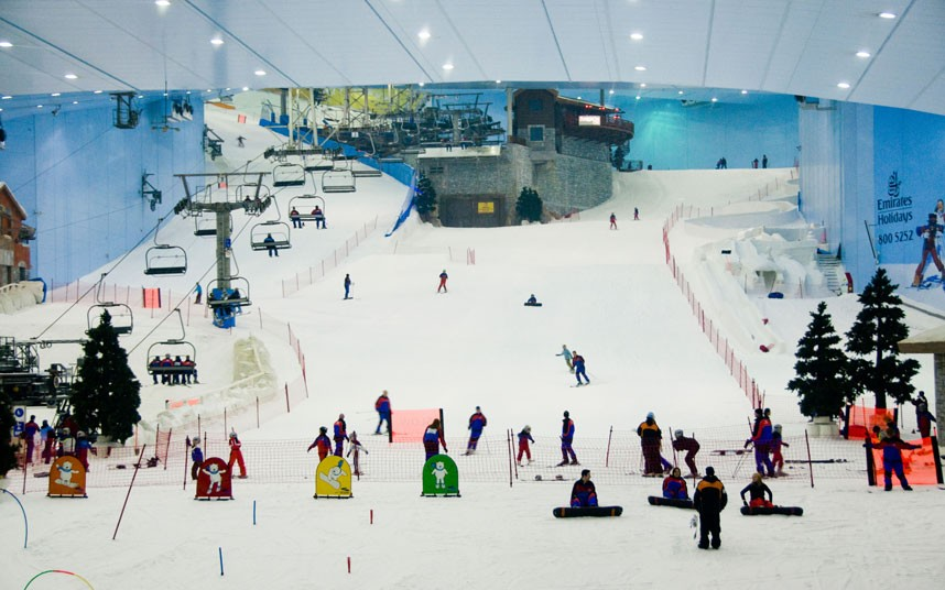Ski Dubai The Indoor Resort In