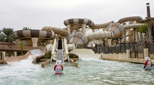 tantrum alley in wild wadi water park