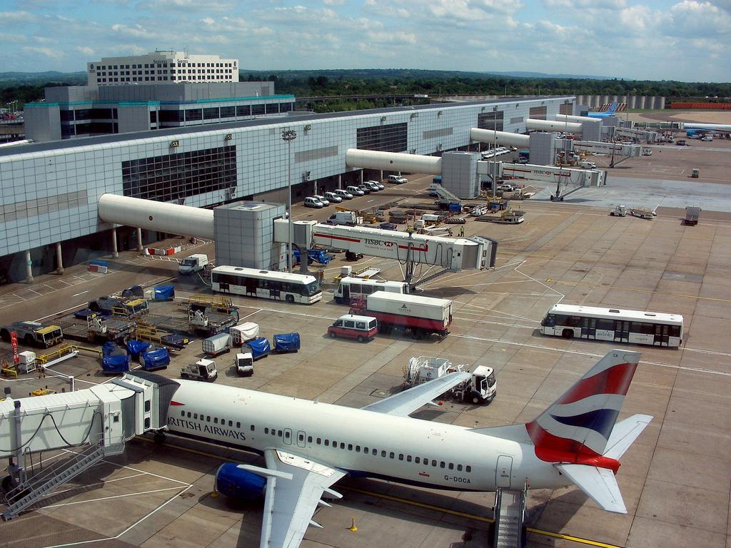 beautiful gatwick airport