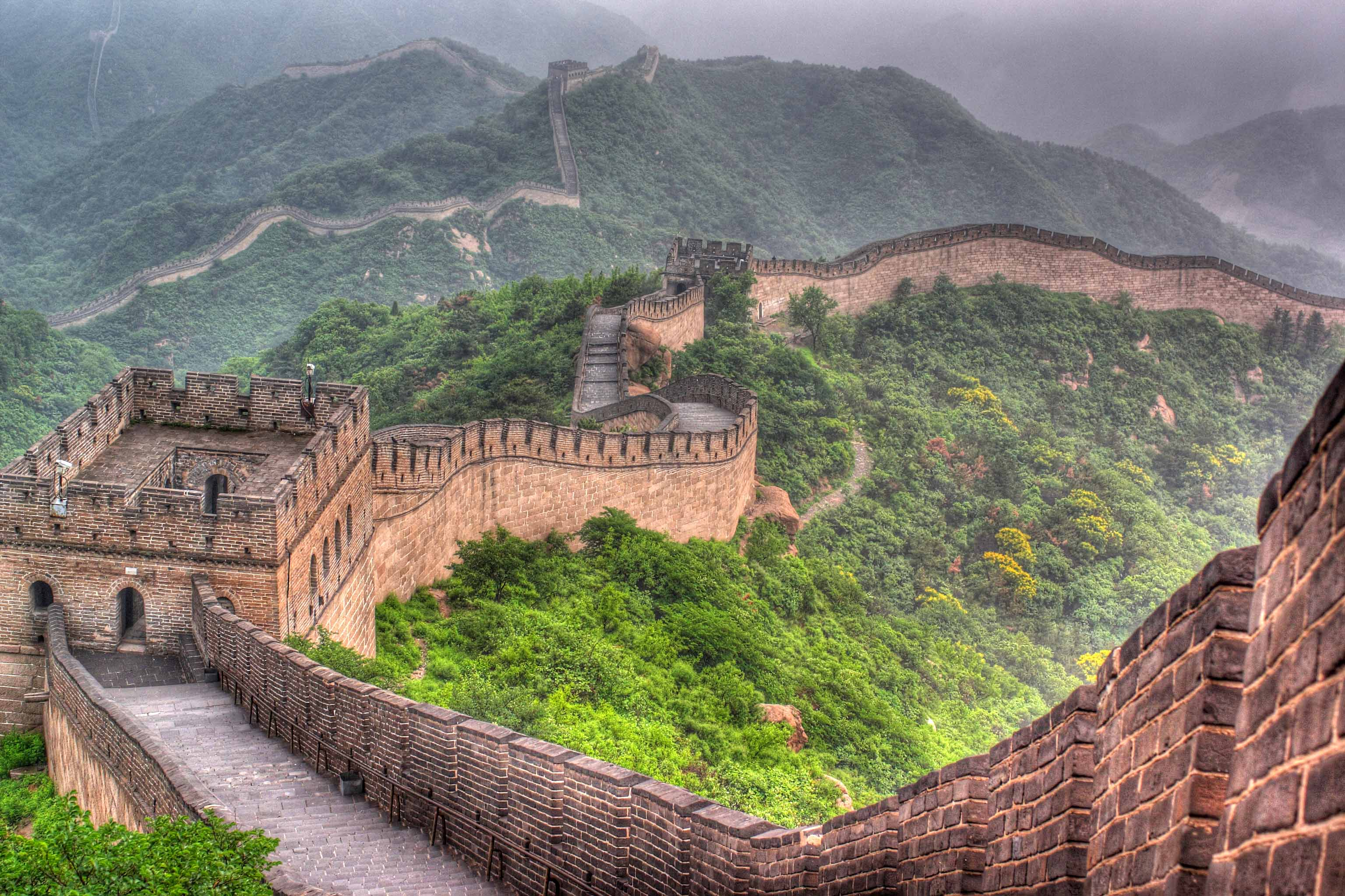 great wall of world