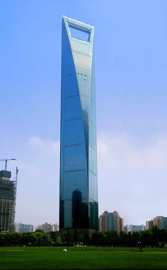 world financial center shanghai china