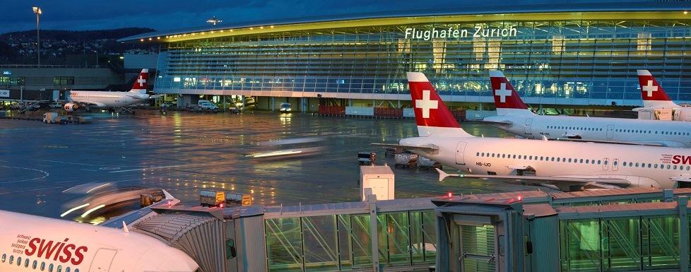 Flughafen airport, zurich