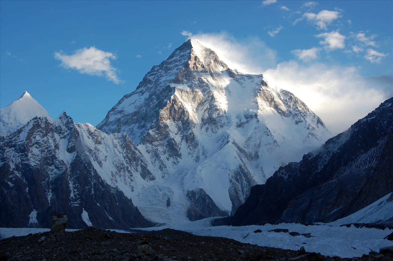 K2, the highest landmark of Pakistan