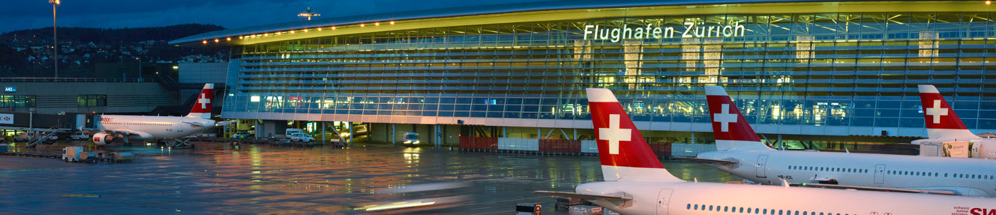 exterior of zurich airport