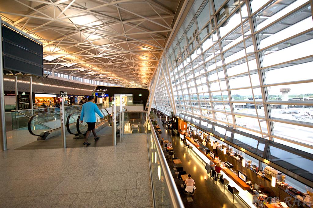 interior view of zurich airport