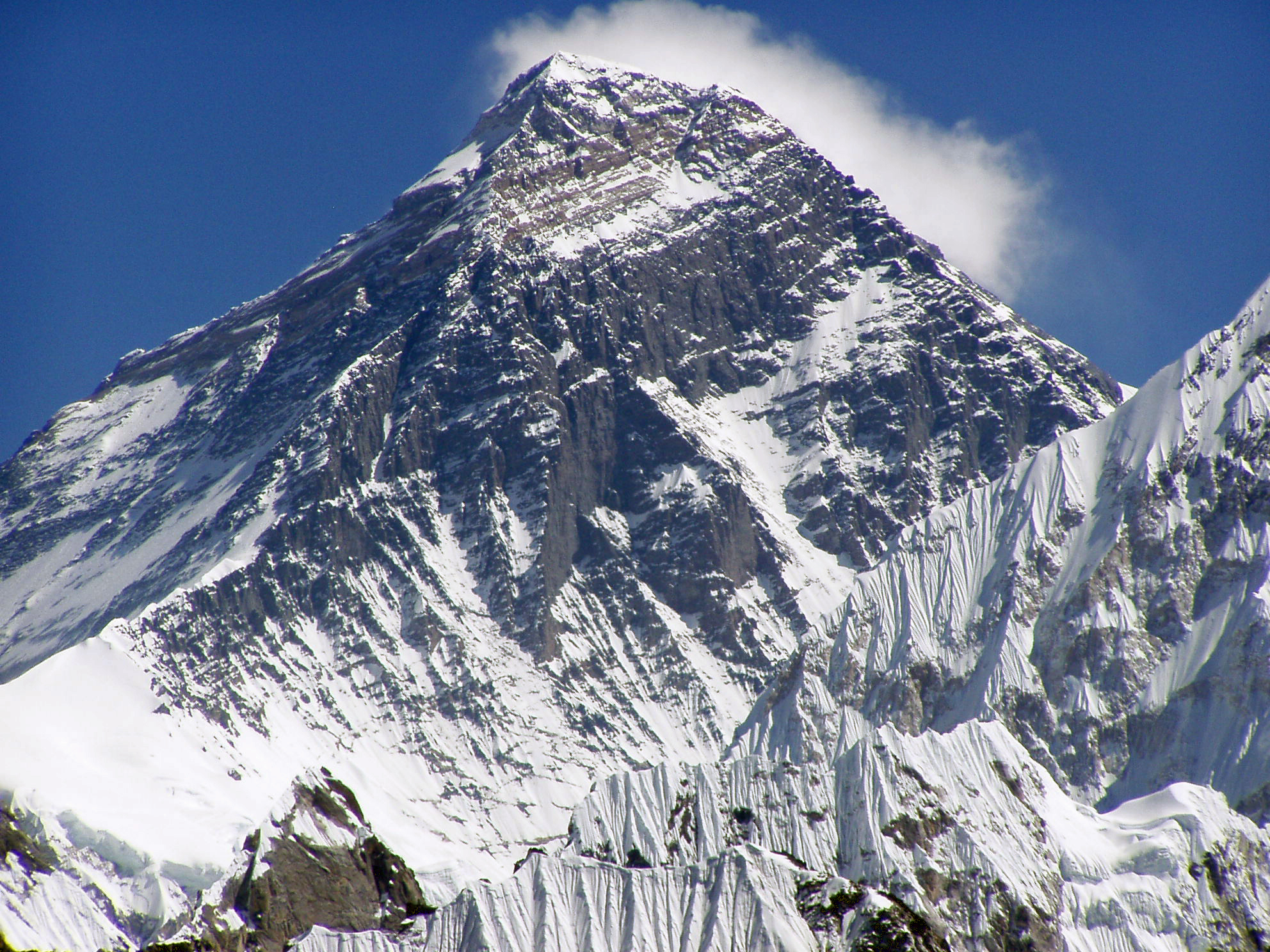 mount everest from down to up