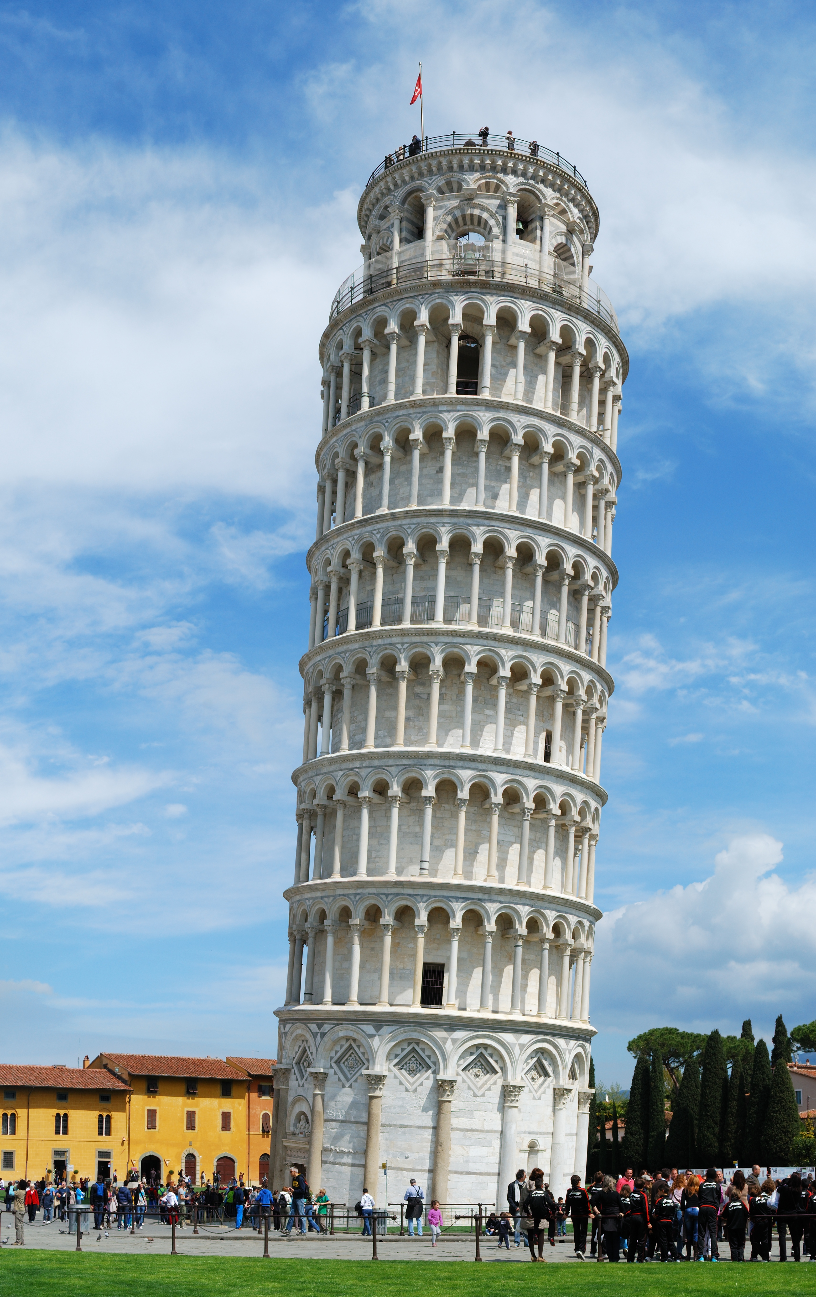 tower of pisa is worst leaning