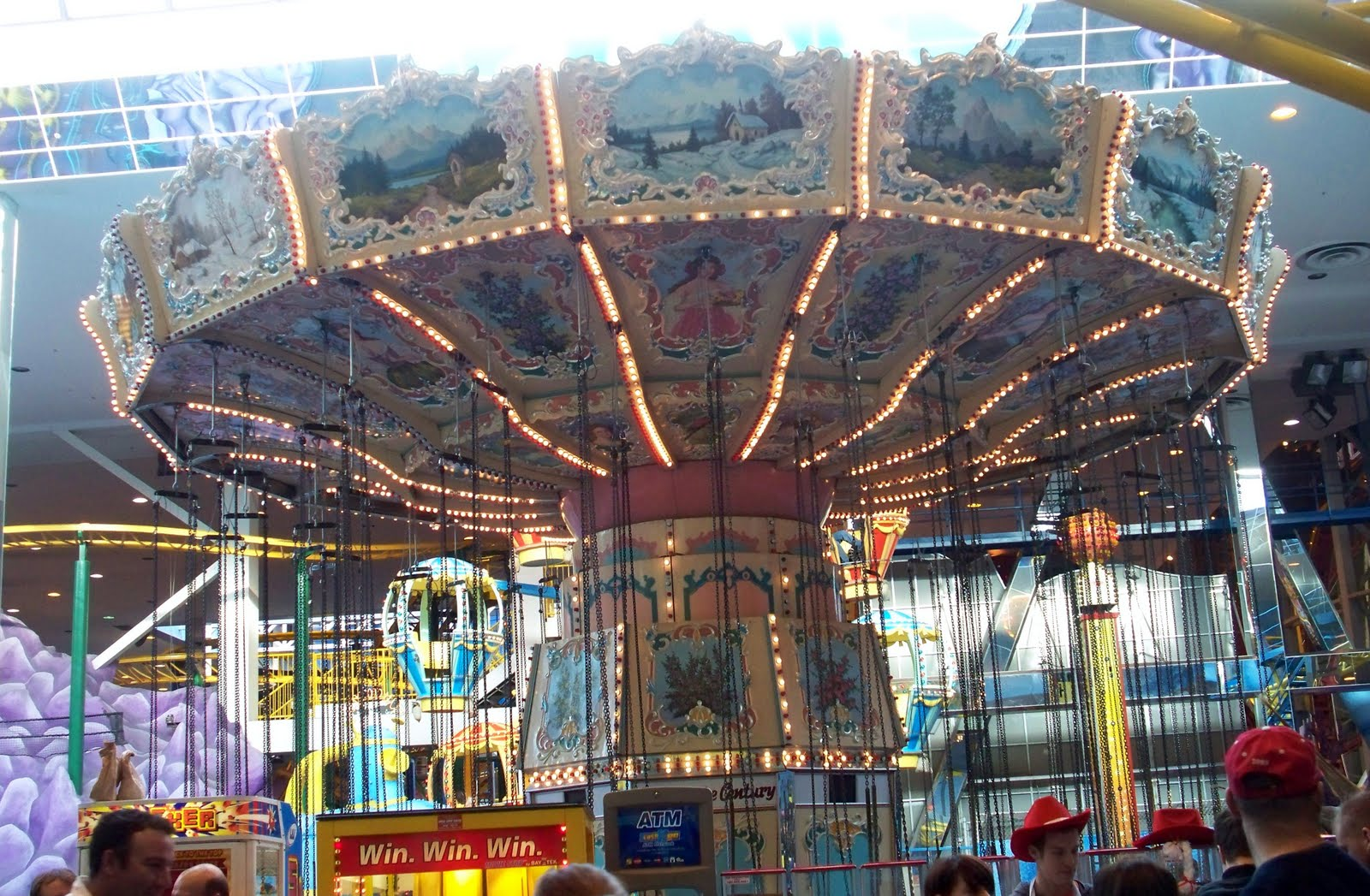 west edmonton mall amusement park