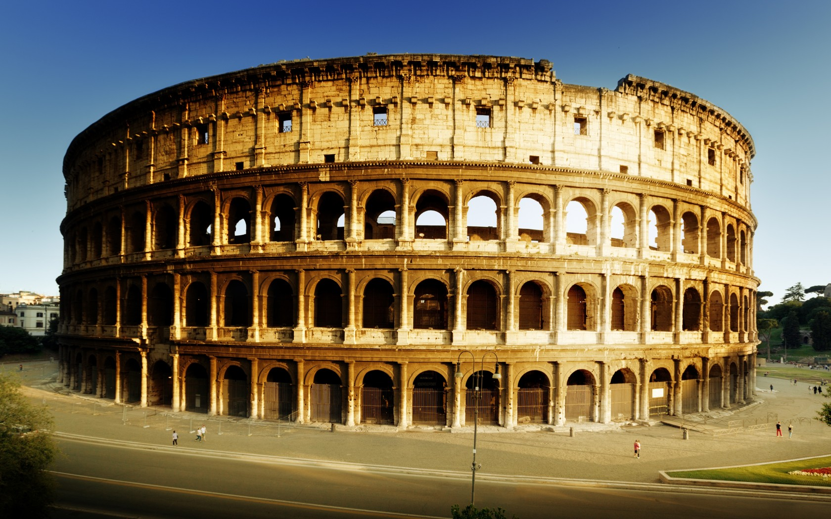 Colosseum from outside
