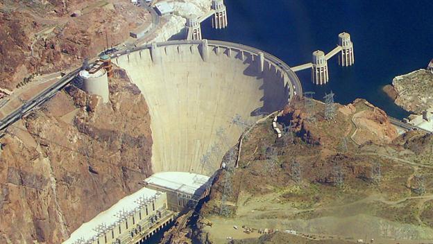 Hoover Dam road