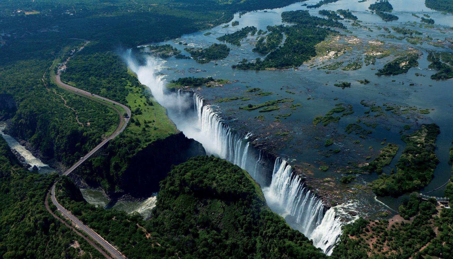 Victoria Falls amazing view