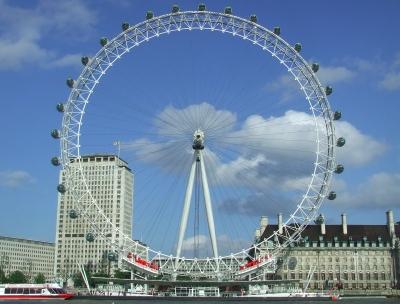 london eye front