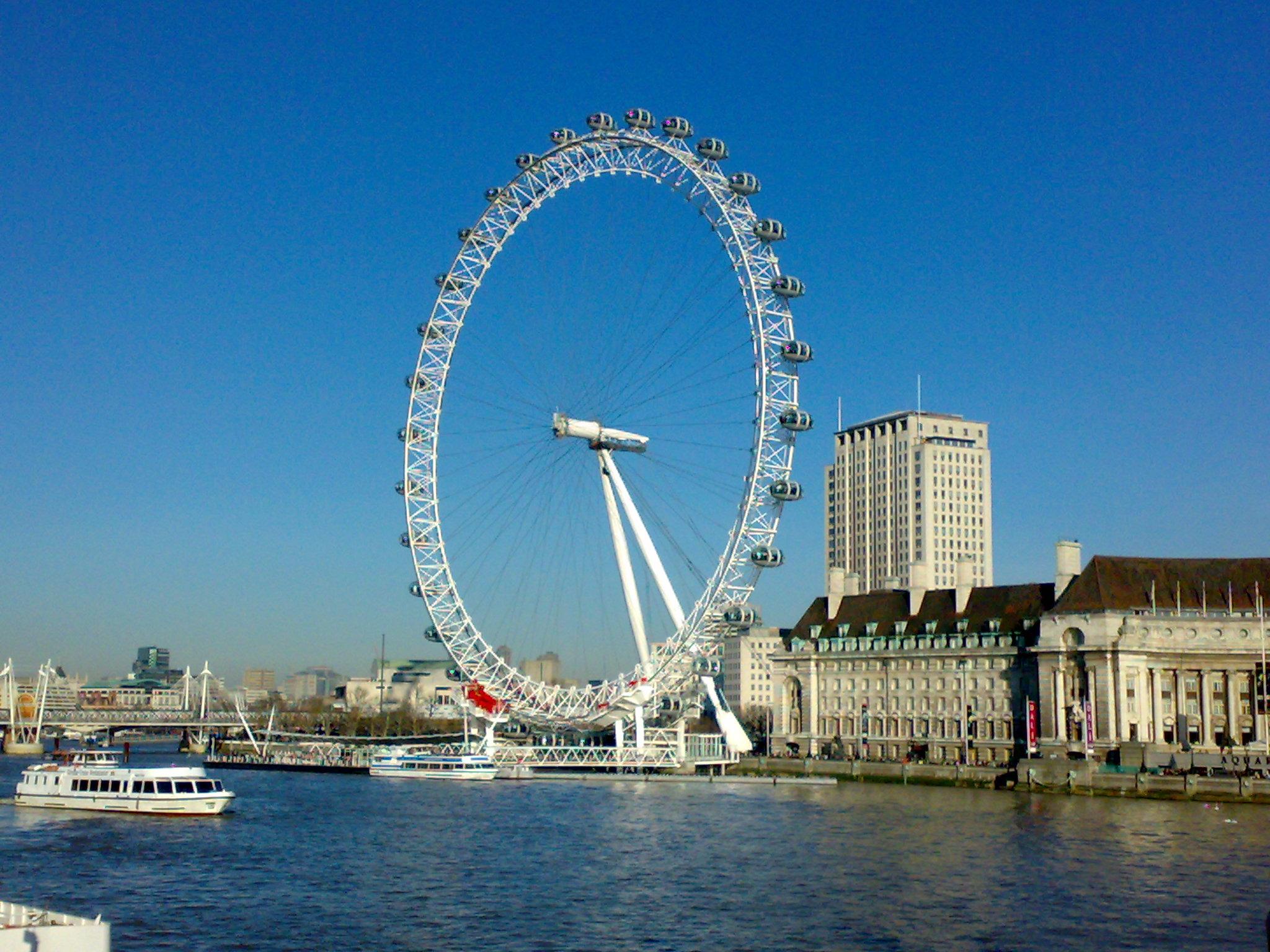 london eye in UK