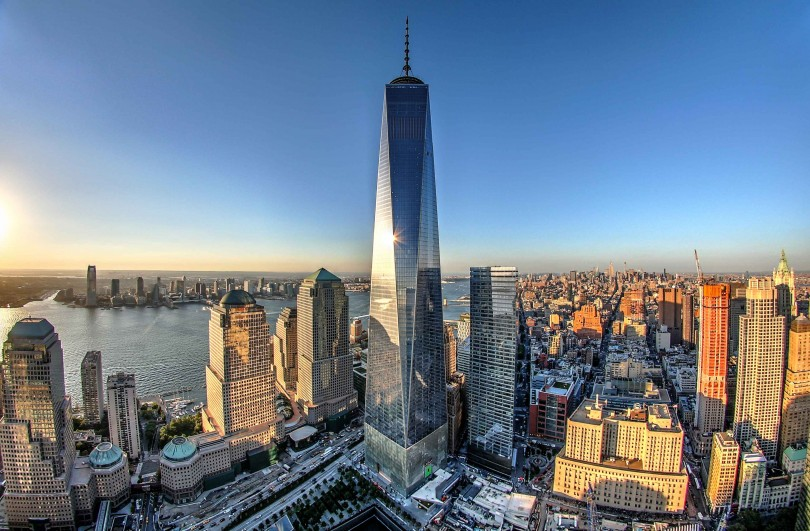 one world trade center, the tallest building in the US