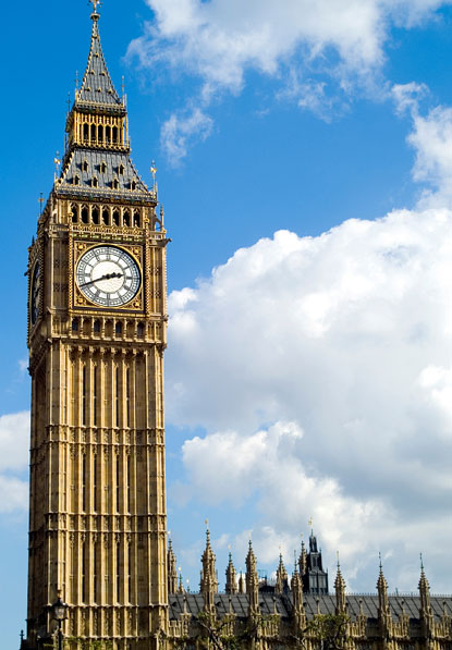 big ben clock tour in UK