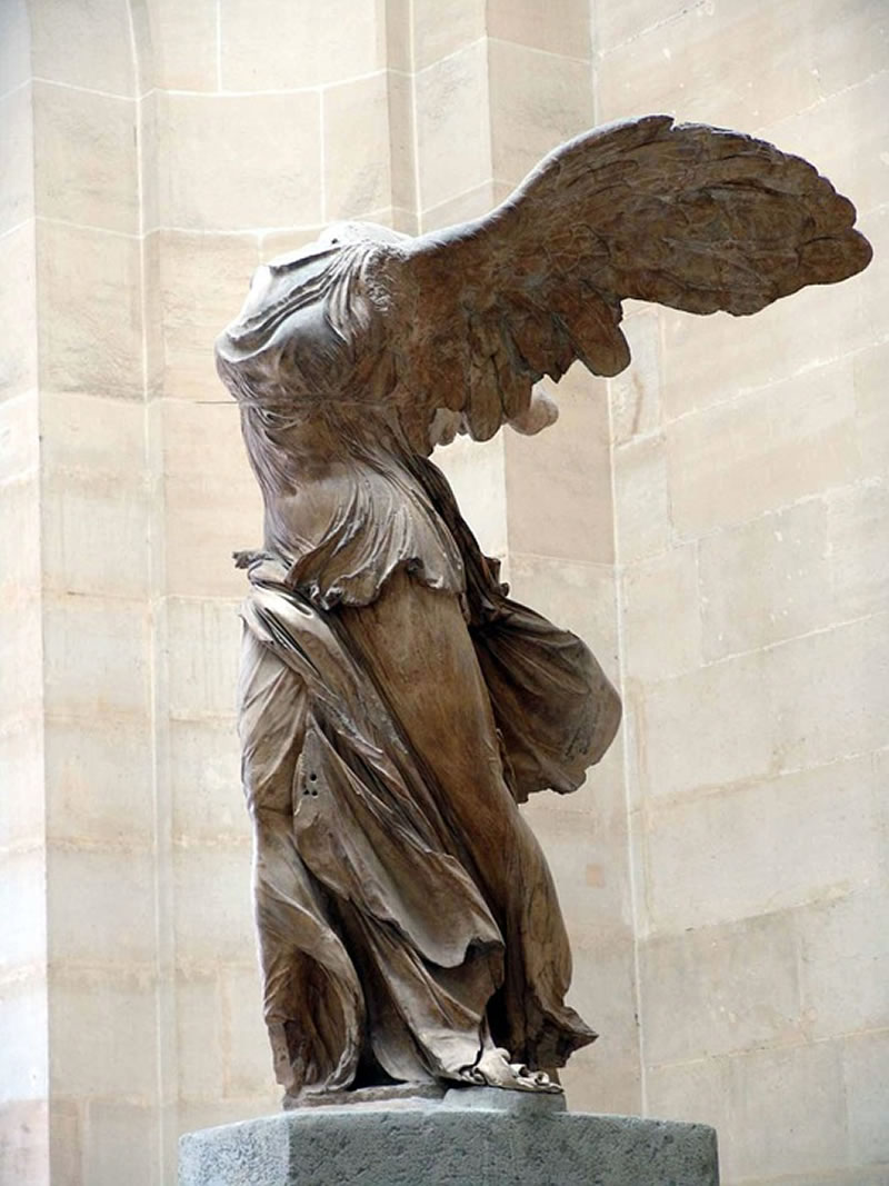 stone sculpture in the louvre