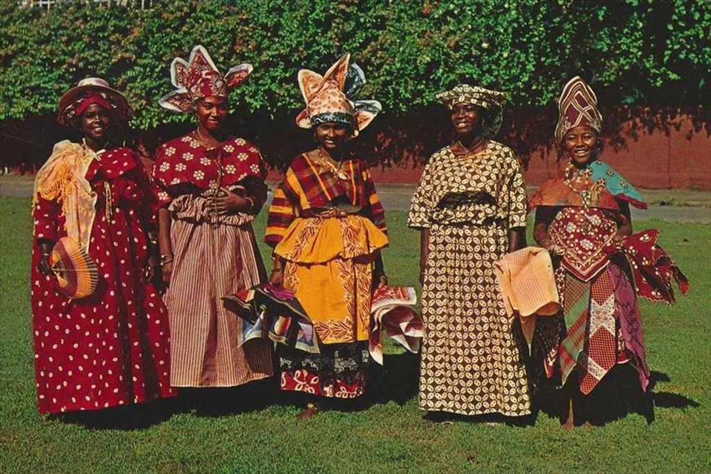 suriname ethnic dress