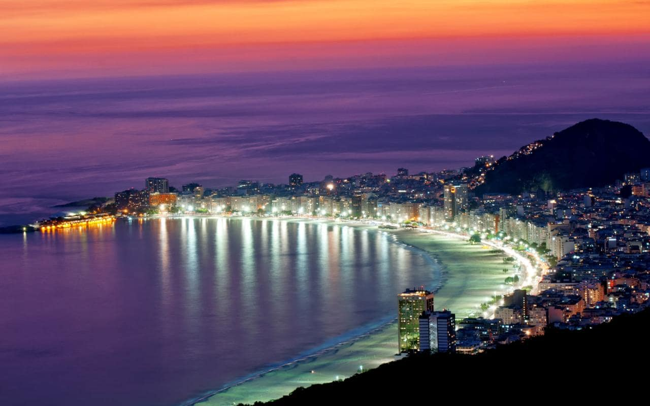 rio nightlife, brazil